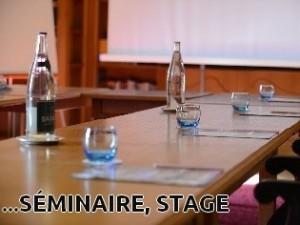 Vous organisez votre séminaire