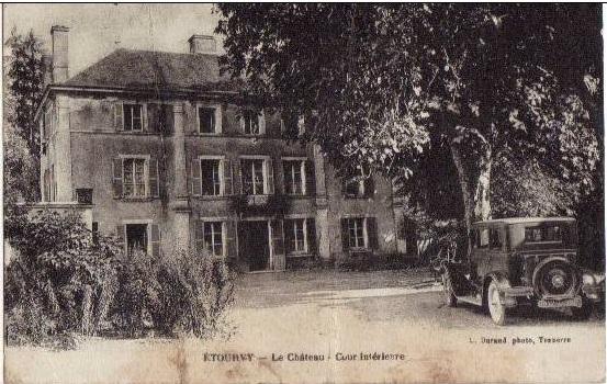 Carte postale ancienne du Château d'Etourvy