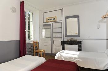 Chambre de 3 au Château
