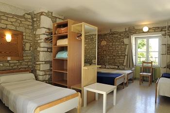 Chambre de 6 au Château